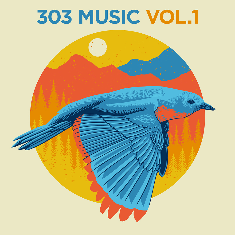 Cover art for 303 Music Vol. 1