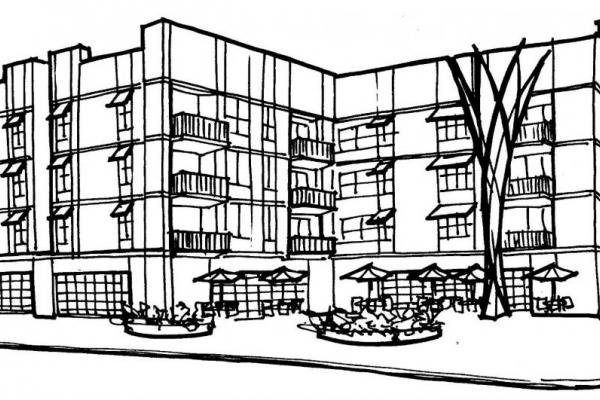 rendering of building