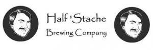 Half' Stache Brewing Company logo