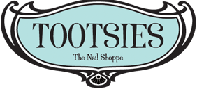 Tootsies Nail Shoppe logo