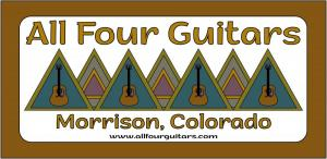 All Four Guitars logo