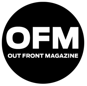 OUT FRONT Magazine logo