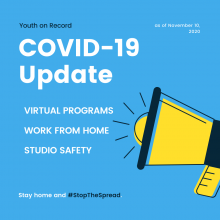 COVID UPDATE FROM YOUTH ON RECORD