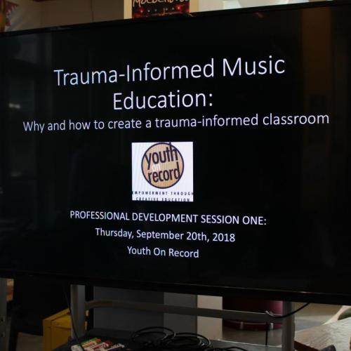Trauma-Informed Music Education