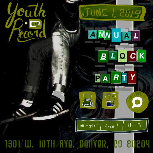 The 5th Annual Youth on Record Block Party
