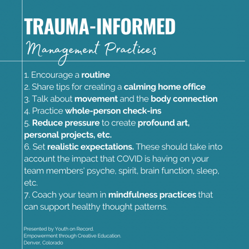Trauma-Informed Management Practices