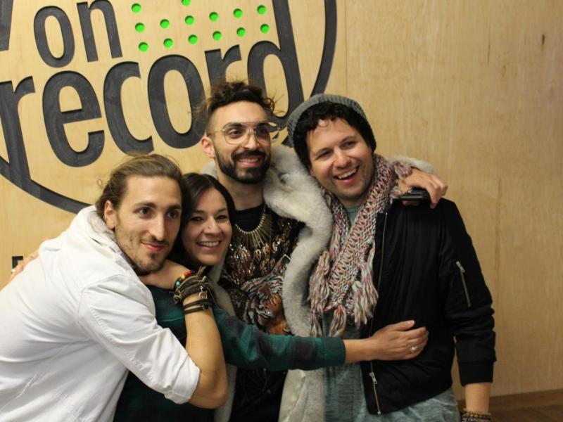 Magic Giant and Alba (Youth on Record Volunteer)
