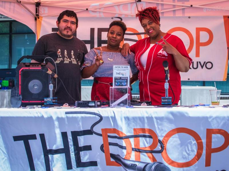 KUVO The Drop supports Youth on Record
