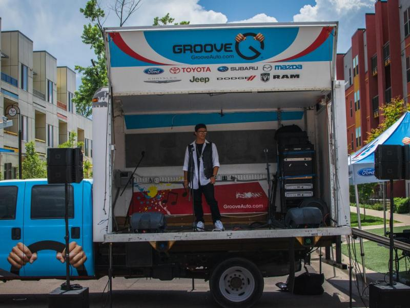 Groove Auto supports Youth on Record