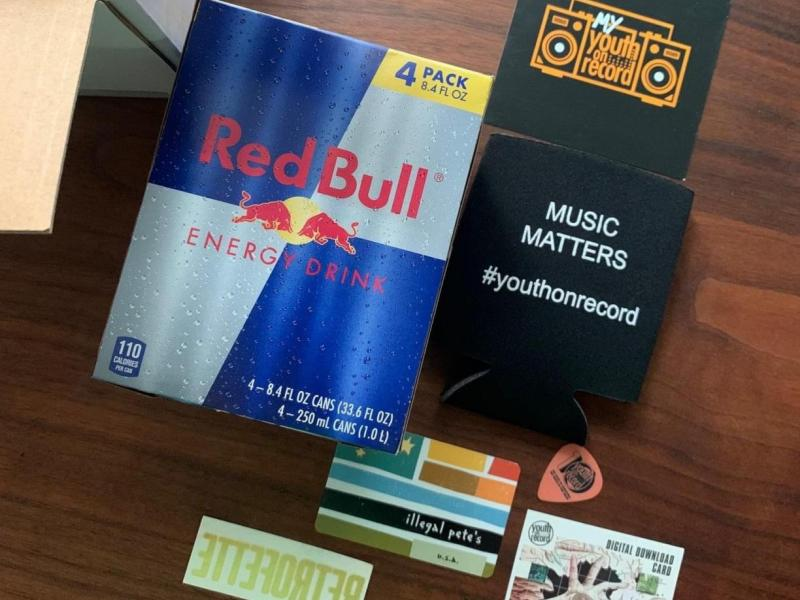 Red Bull Donor Box